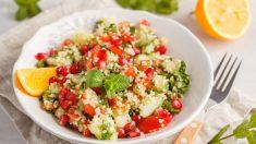 Receta de Cuscús de verduras aromatizado sin gluten