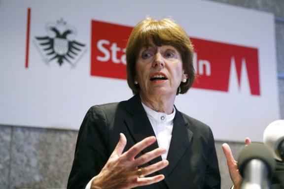 Henriette Reker, alcaldesa de Colonia (Foto: Reuters)