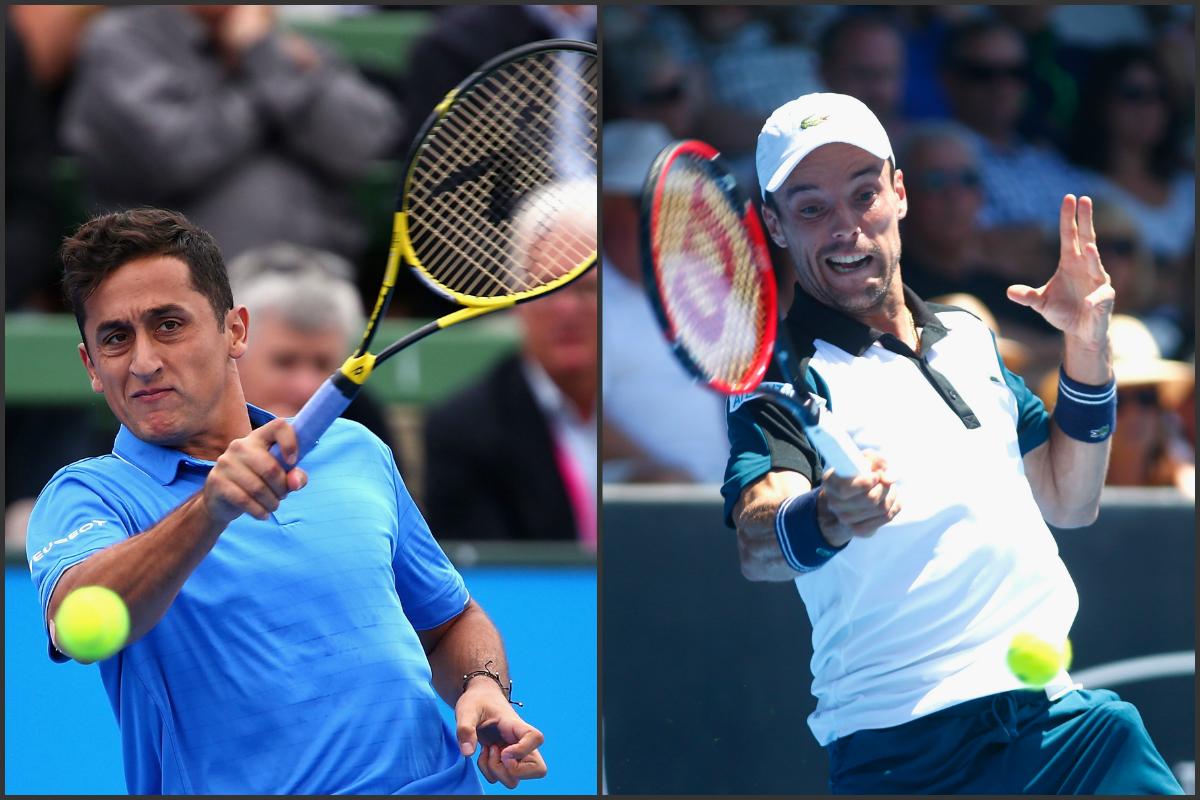 Nico Almagro y Roberto Bautista. (Getty)