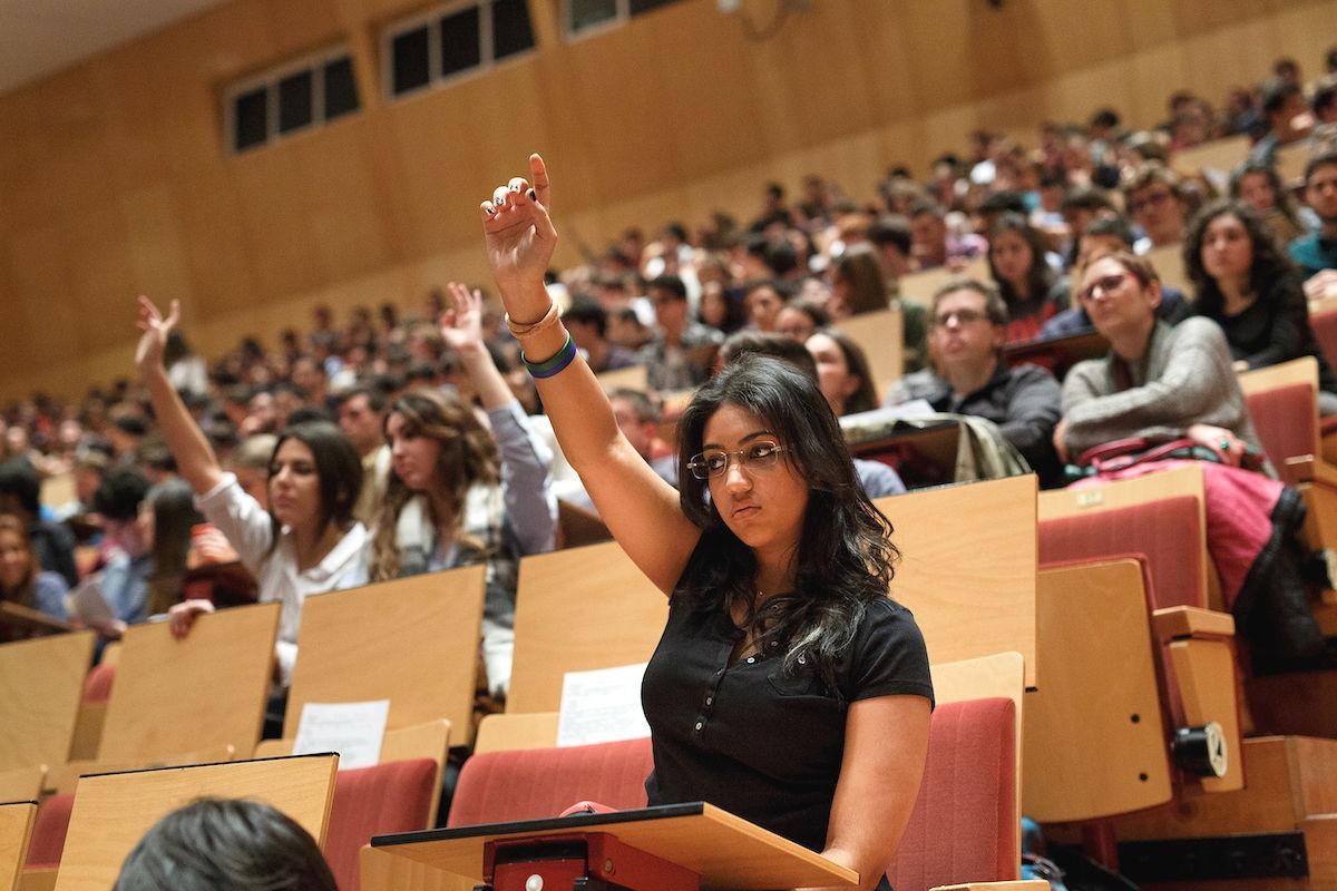 Alumnos de la Universidad Pública española (Foto: GETTY)