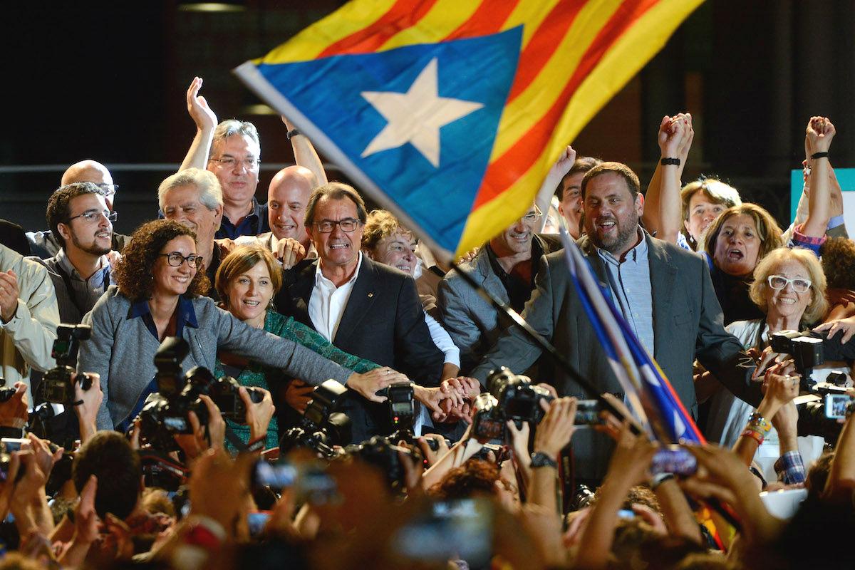 Artur Mas y Oriol Junqueras (Foto: GETTY)