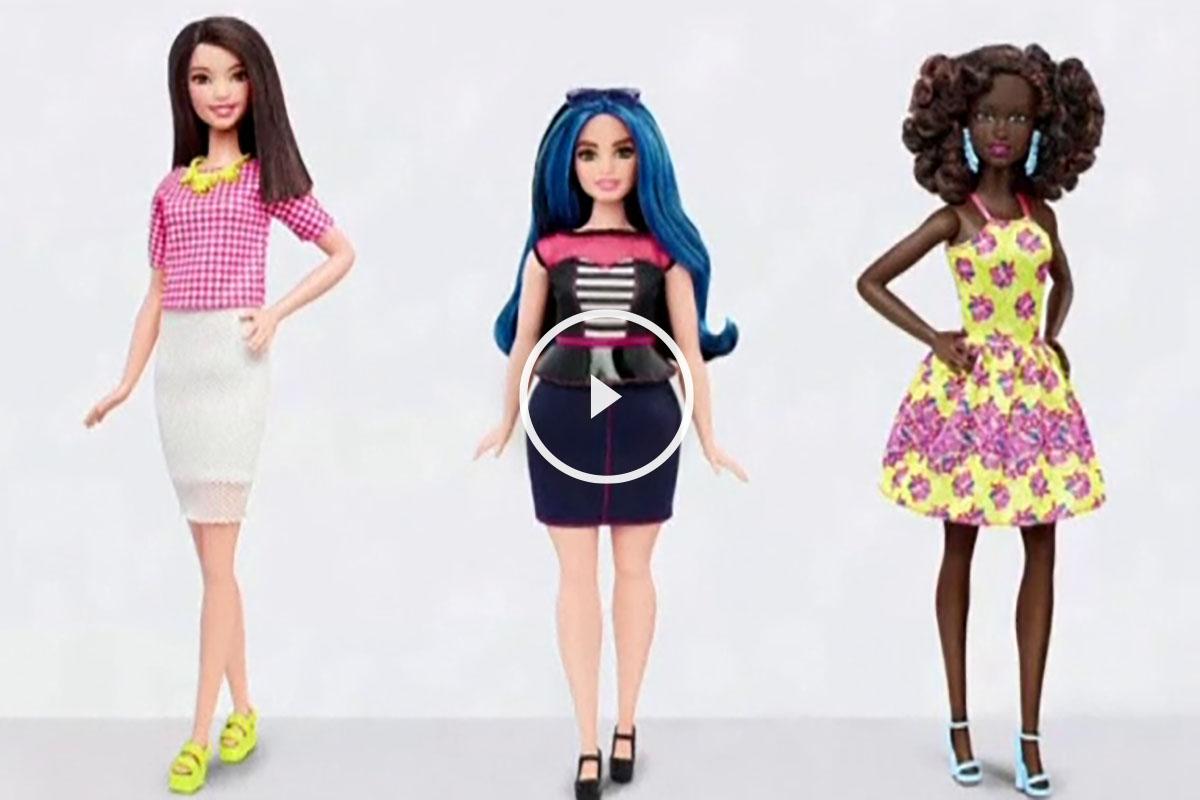 Nueva imagen de las muñecas Barbie.