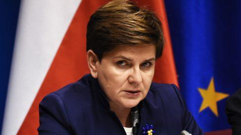 La primera ministra polaca Beata Szydlo (Foto: AFP)