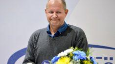 El jefe de la policía nacional sueca, Dan Eliasson, durante la conferencia de este lunes en Salen.(Foto: Reuters)