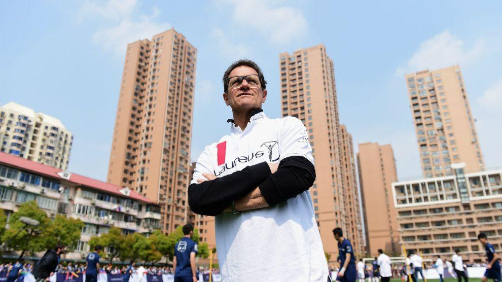 Fabio Capello tiene dos Ligas con el Real Madrid.