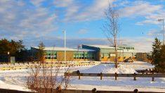 El instituto canadiense después de la matanza (Foto: Reuters)