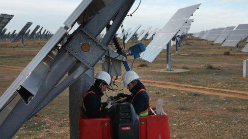 Centro solar en España (Foto: GETTY)