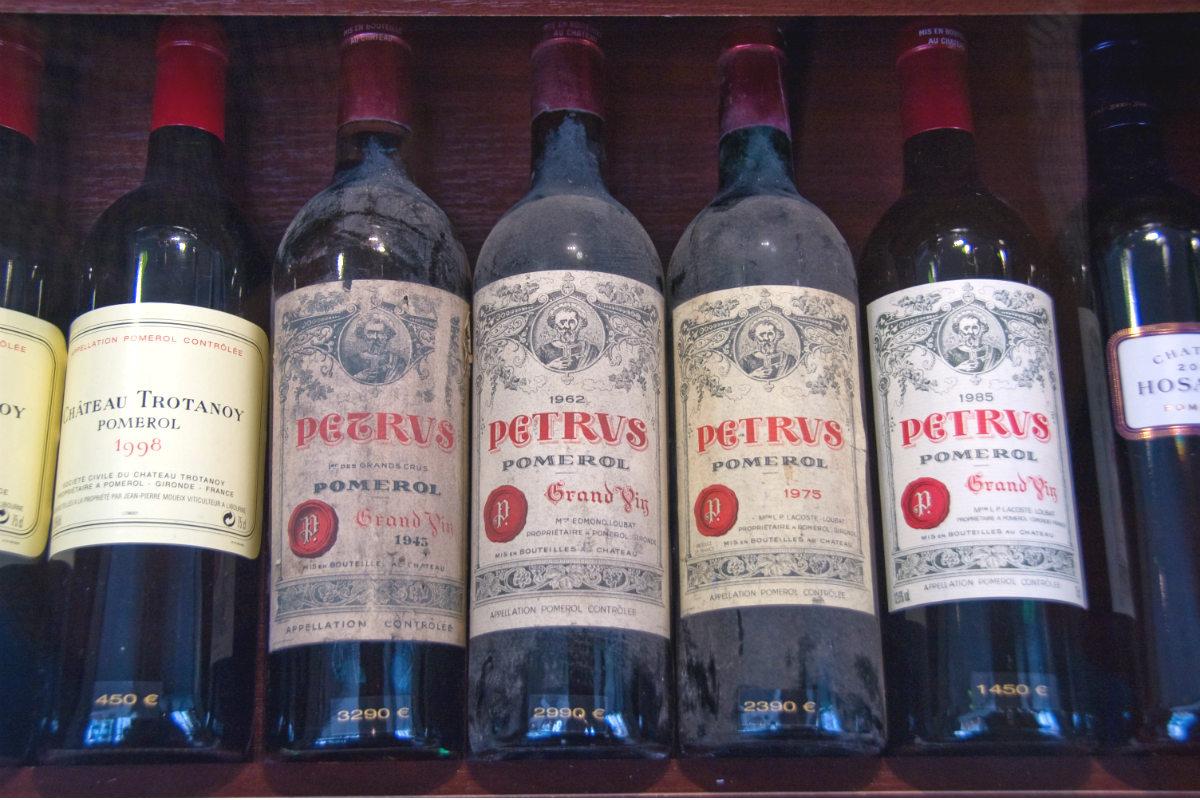 Marcas de vino de lujo más falsificadas (Fuente: Getty)