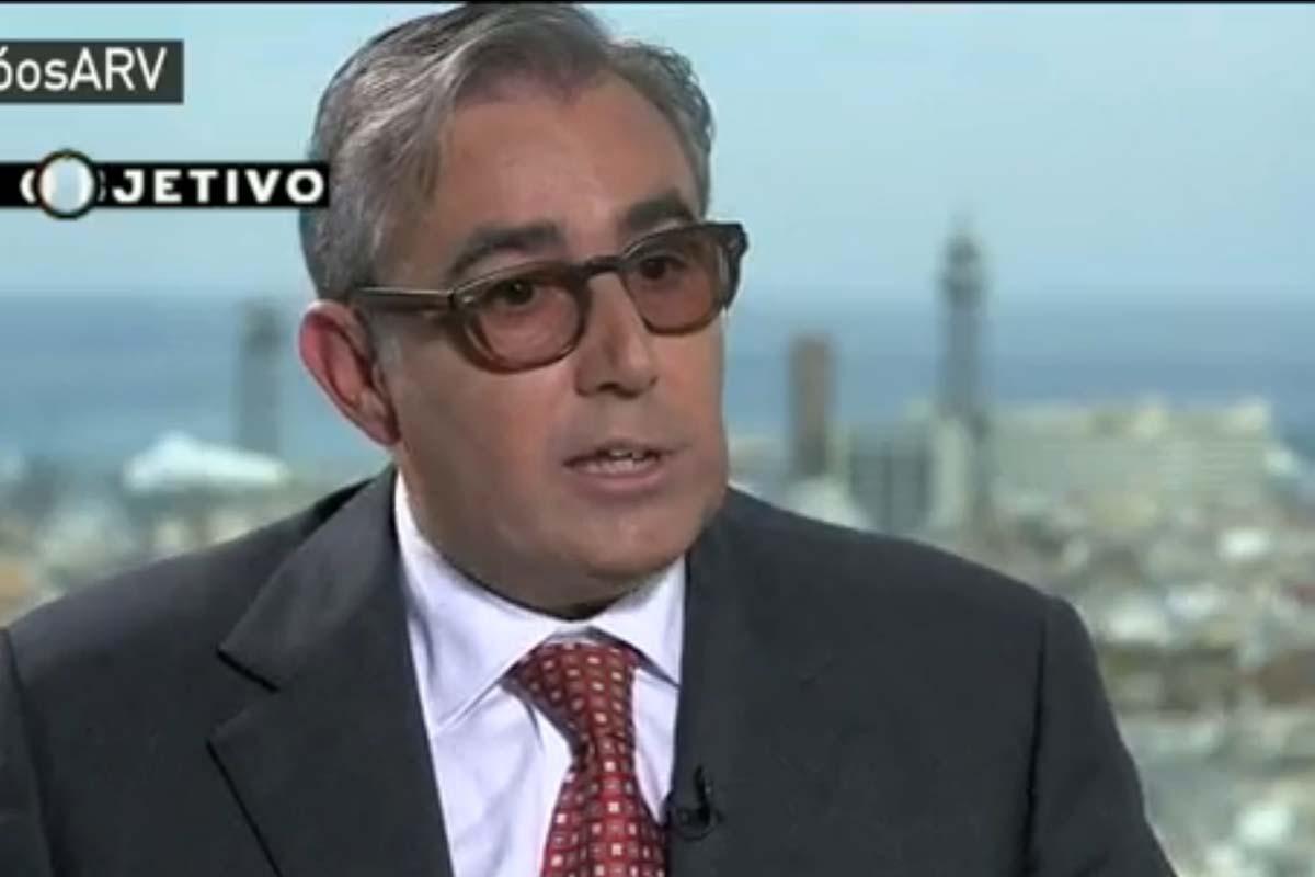 Diego Torres, durante su entrevista en LaSexta