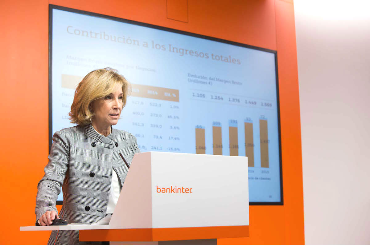 Dolores Dancausa, CEO de Bankinter