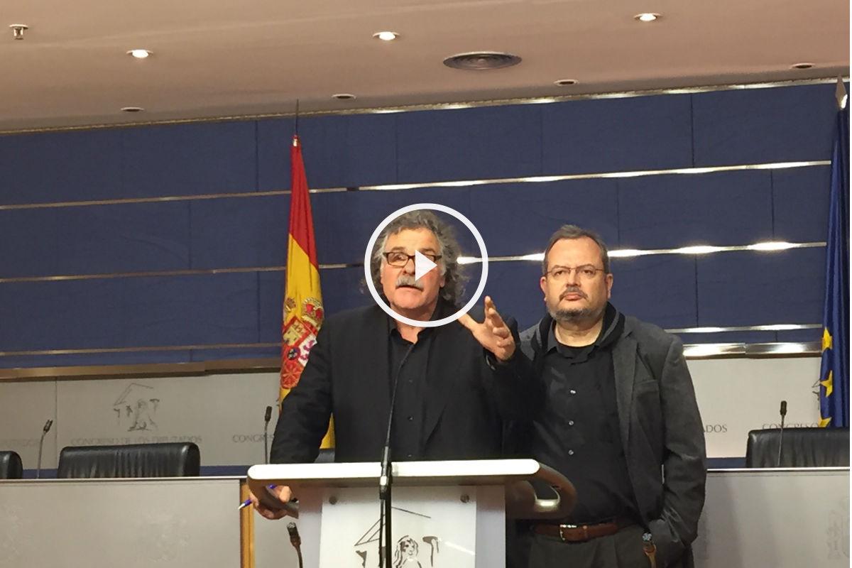 Joan Tardá de ERC. (Foto: Nuria Val)