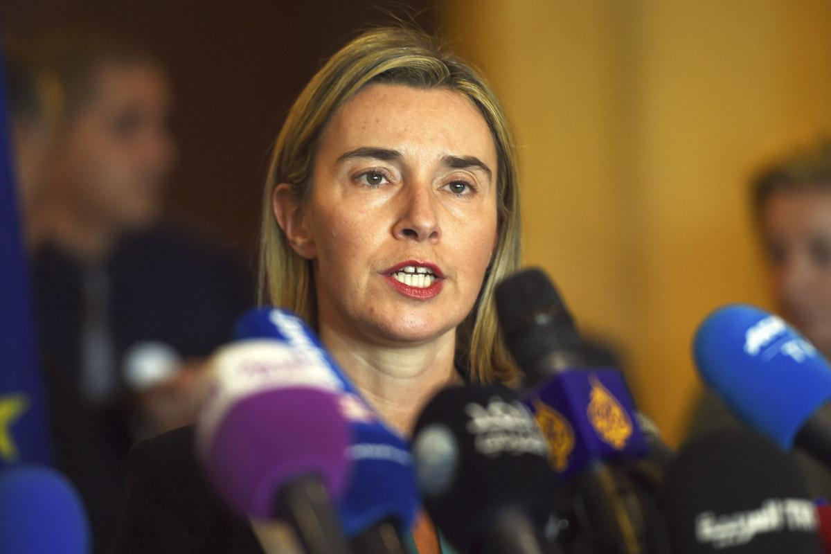 Federica Mogherini. (Foto: AFP)