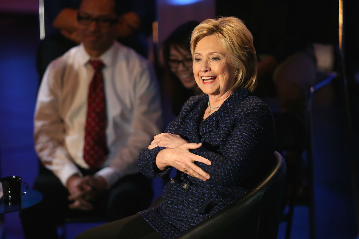 Hillary Clinton en un acto con demócratas (Foto: GETTY)