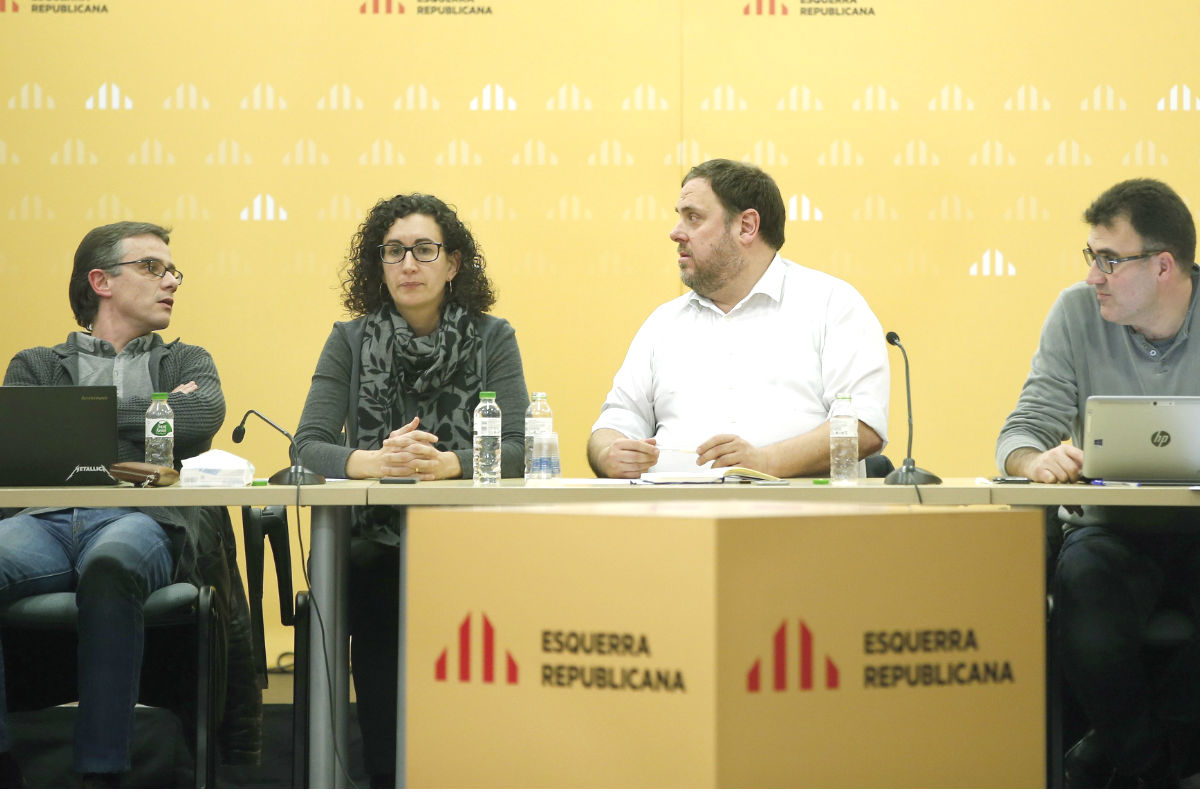 El líder de ERC, Oriol Junqueras. (Foto: EFE)