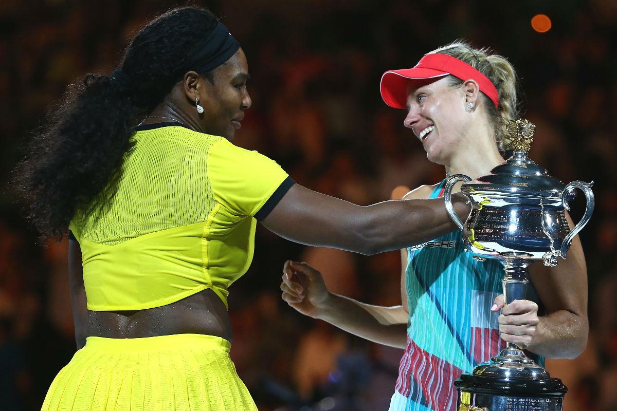 Kerber no daba crédito al partido que realizó ante Serena Williams. (Getty)