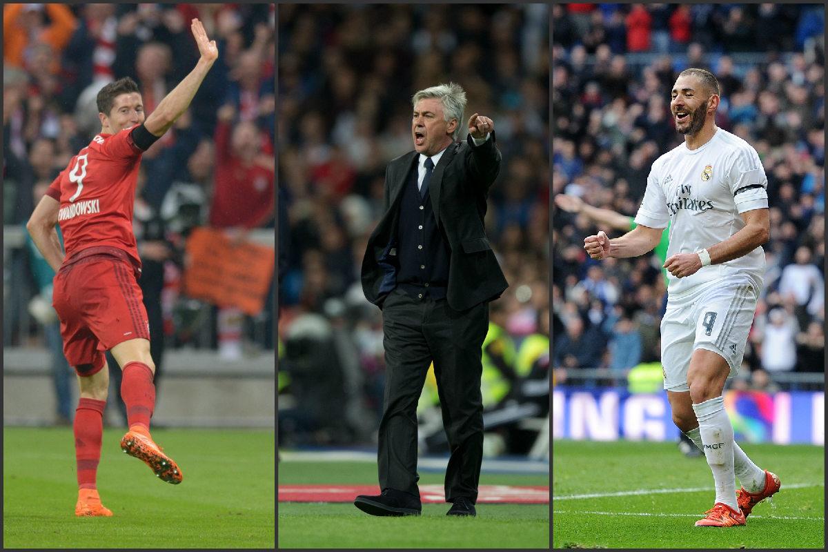 Ancelotti quiere a Benzema si se va Lewandowski. (Getty)