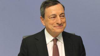 Mario Draghi, líder del BCE Foto: GETTY)