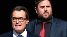Artur Mas y Oriol Junqueras. (Foto: Getty)