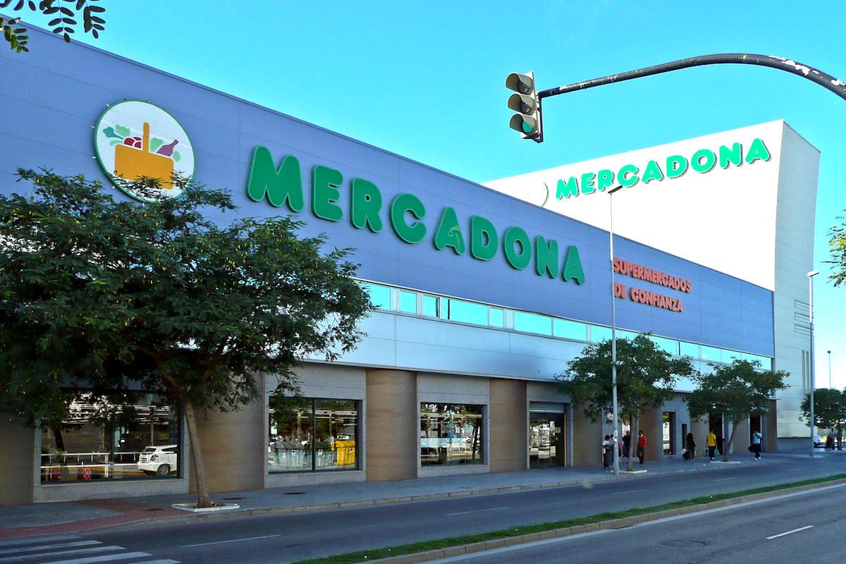 Supermercado Mercadona en Cádiz.
