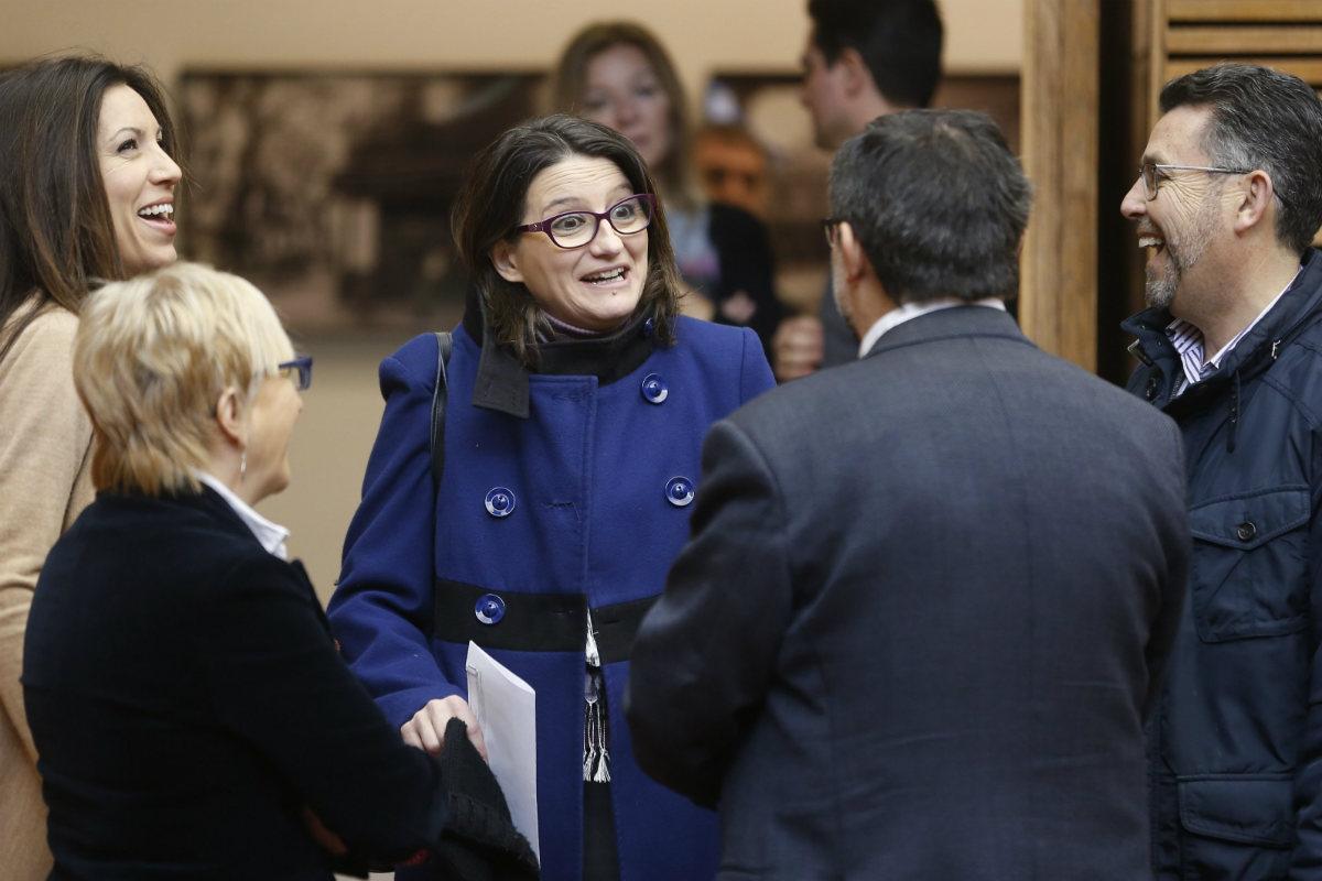 La vicepresidenta del Consell, Mónica Oltra. (Foto:EFE)