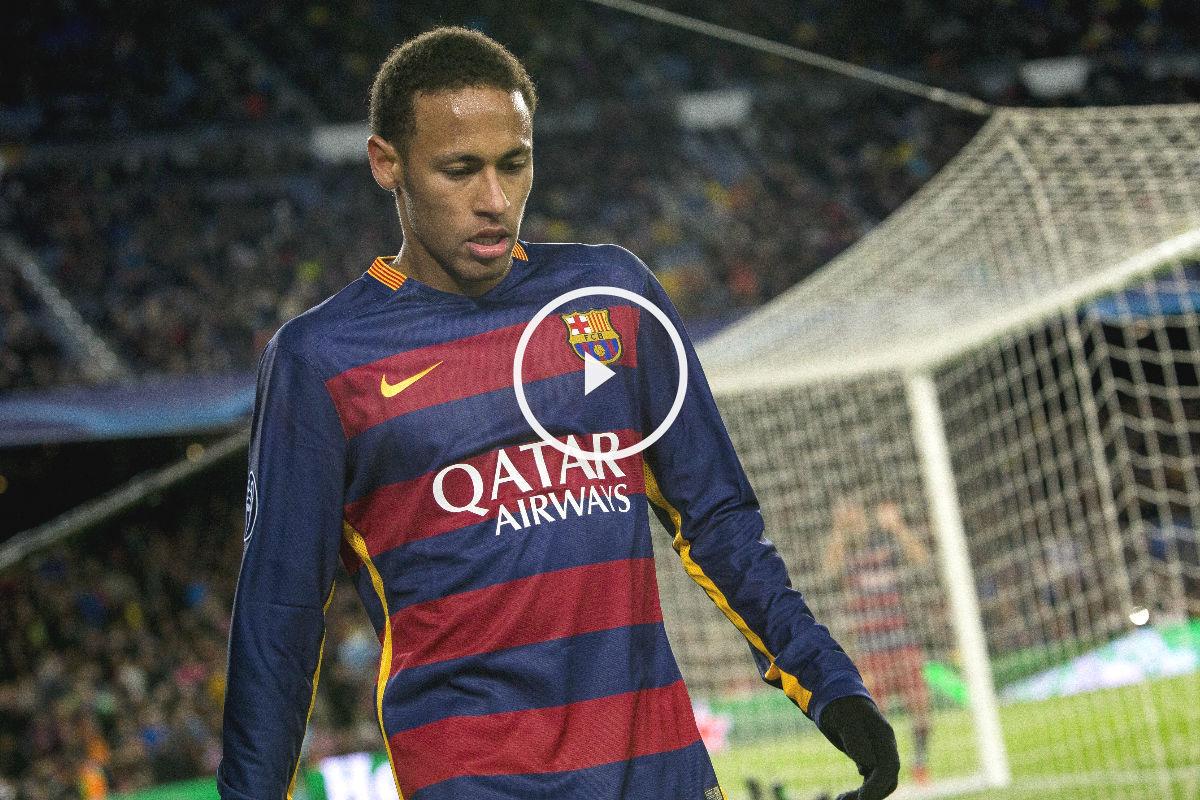 Neymar no viaja a Málaga.