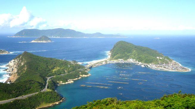 Una isla japonesa donde sólo pueden entrar hombres quiere ser Patrimonio de la Humanidad