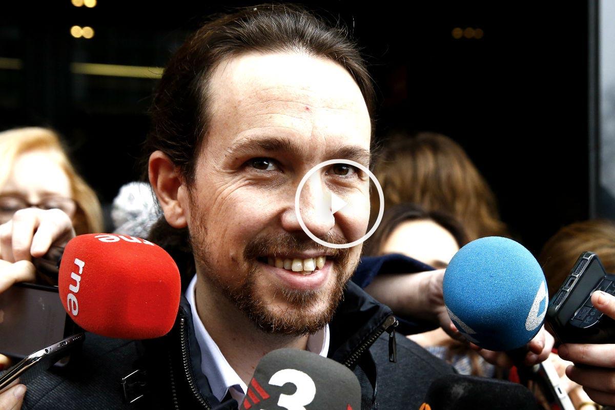 Pablo Iglesias: «Claro que vamos a defender el referéndum»