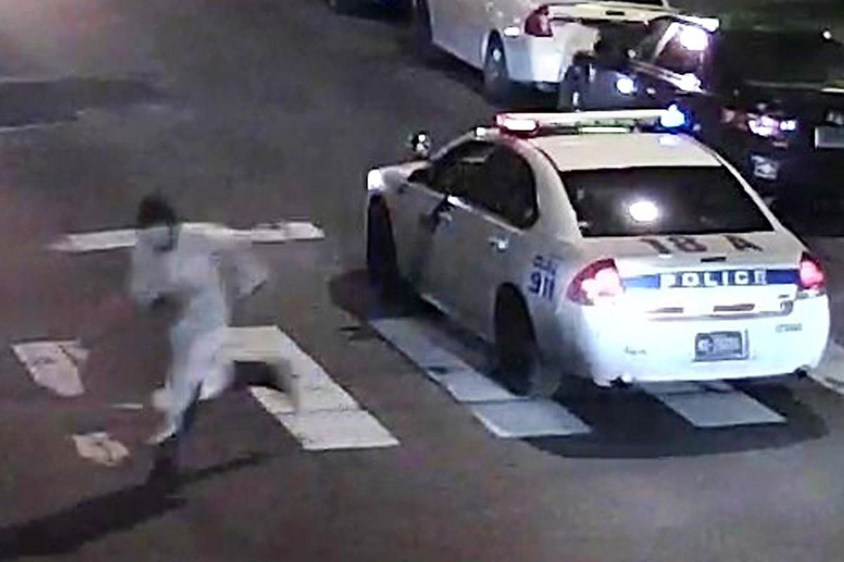 Imágenes del hombre que atacó a la policía en Philadelphia «en nombre del islám»