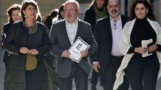 Dirigentes de Podemos en la Comunidad Valenciana. (Foto: EFE)