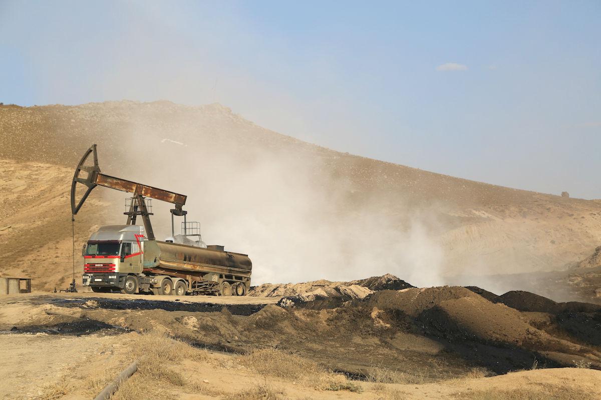 Pozo de petróleo en Oriente Medio (Foto: GETTY)
