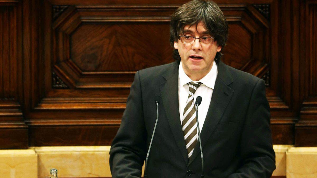 El presidente de Cataluña, Carles Puigdemont (EFE)