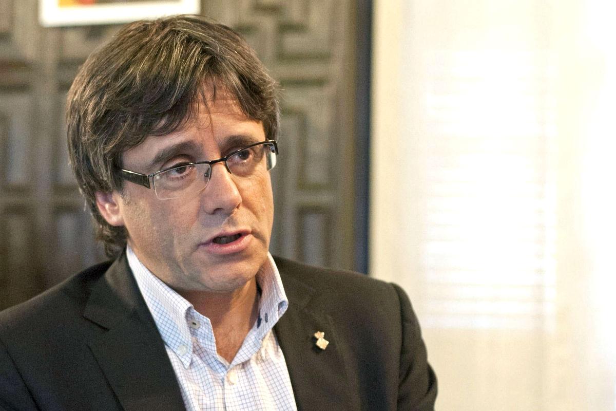 El alcalde de Gerona y presidente de la Generalitat, Carles Puigdemont (Foto: Efe)