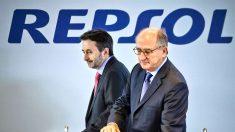 El CEO de Repsol, Josu Jon Ímaz y el presidente, Antonio Brufau. (Foto: EFE)
