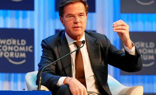El premier holandés Rutte quiere terminar con la crisis de los refugiados en Europa en 6-8 semanas