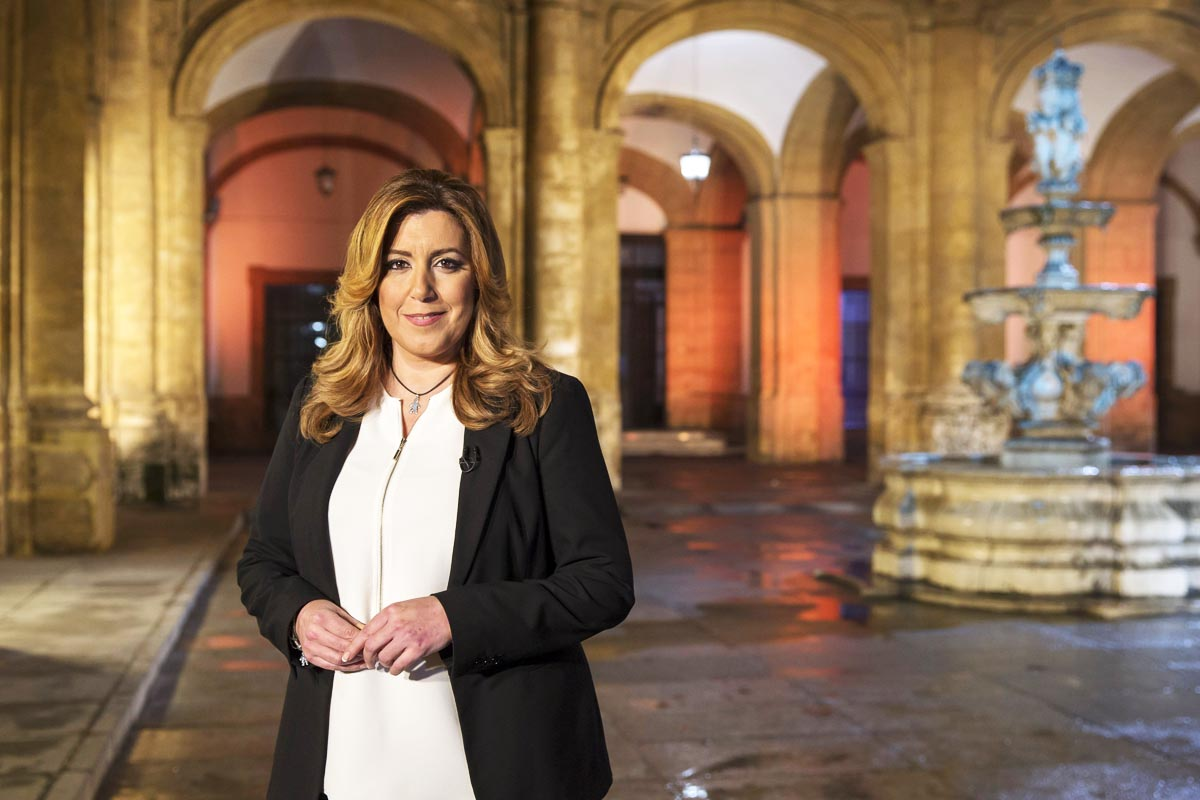 Susana Díaz, presidenta de Andalucía (Foto: EFE)