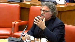 Joan Tarda (ERC), en el Congreso de los Diputados