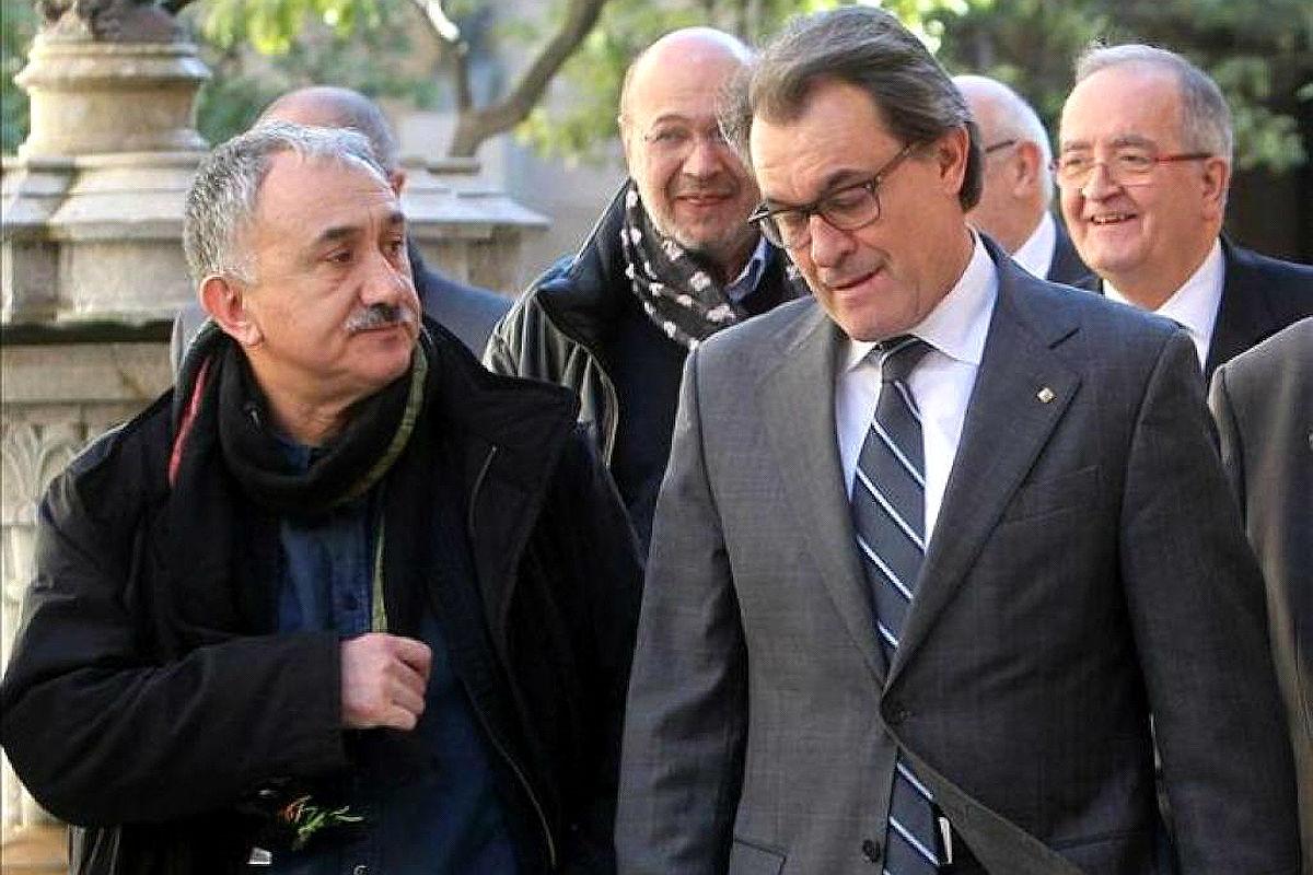 El líder de UGT en Cataluña, Josep María Álvarez. (Foto: EFE)