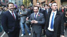 Un grupo de auditores en las calles de Londres (Foto: GETTY)