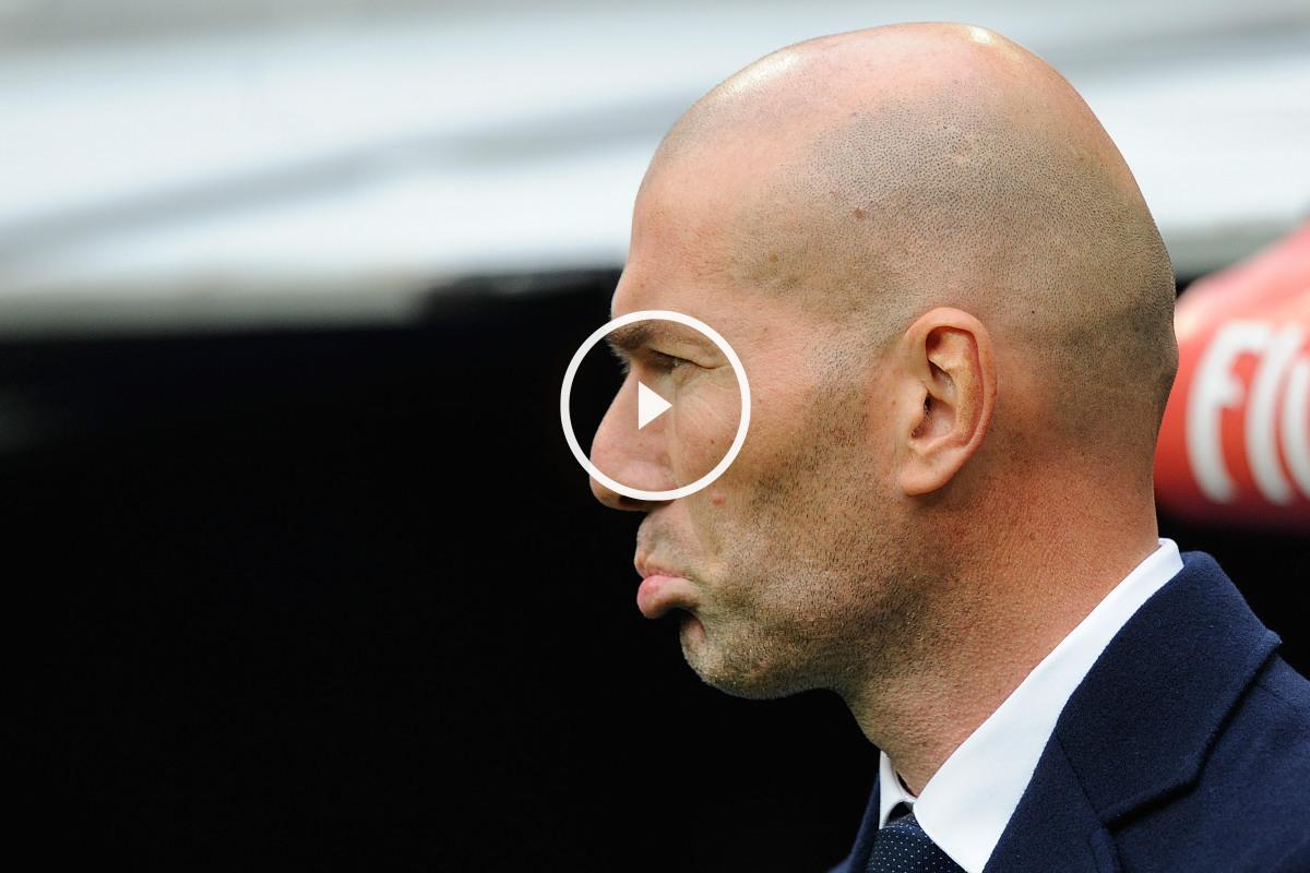 Zidane, preocupado por la situación de James.