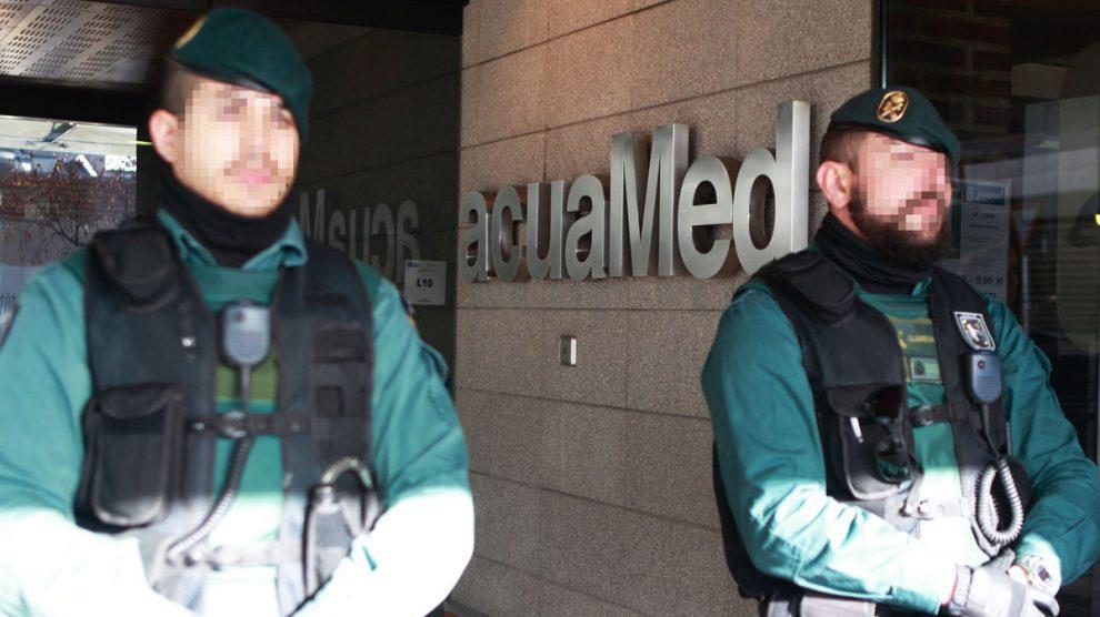 Sede de Acuamed en Madrid. (Foto: EFE)