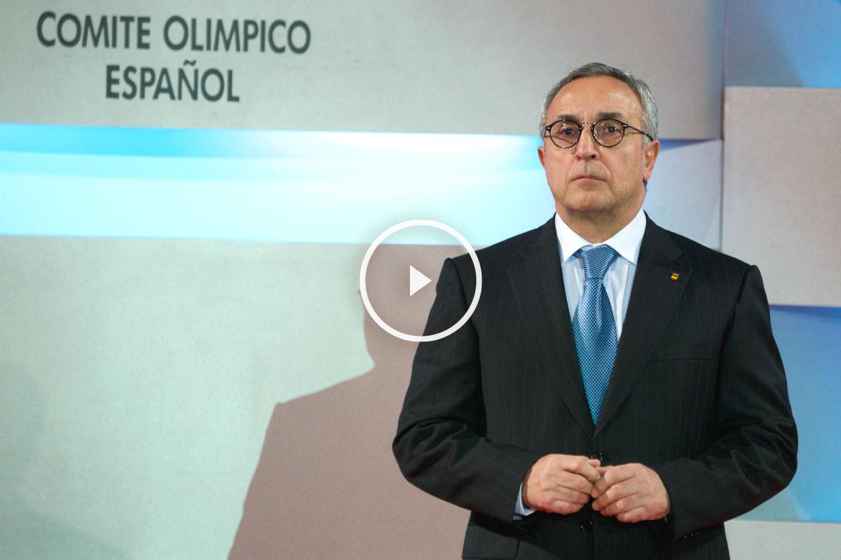 Alejandro Blanco, presidente del COE.
