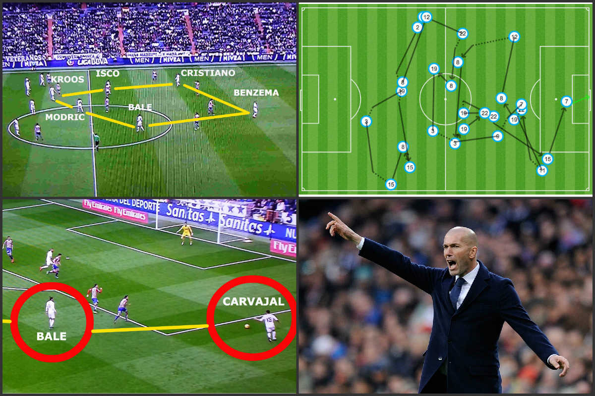 El Real Madrid realizó una versión mejorada del 'efecto Zidane'.