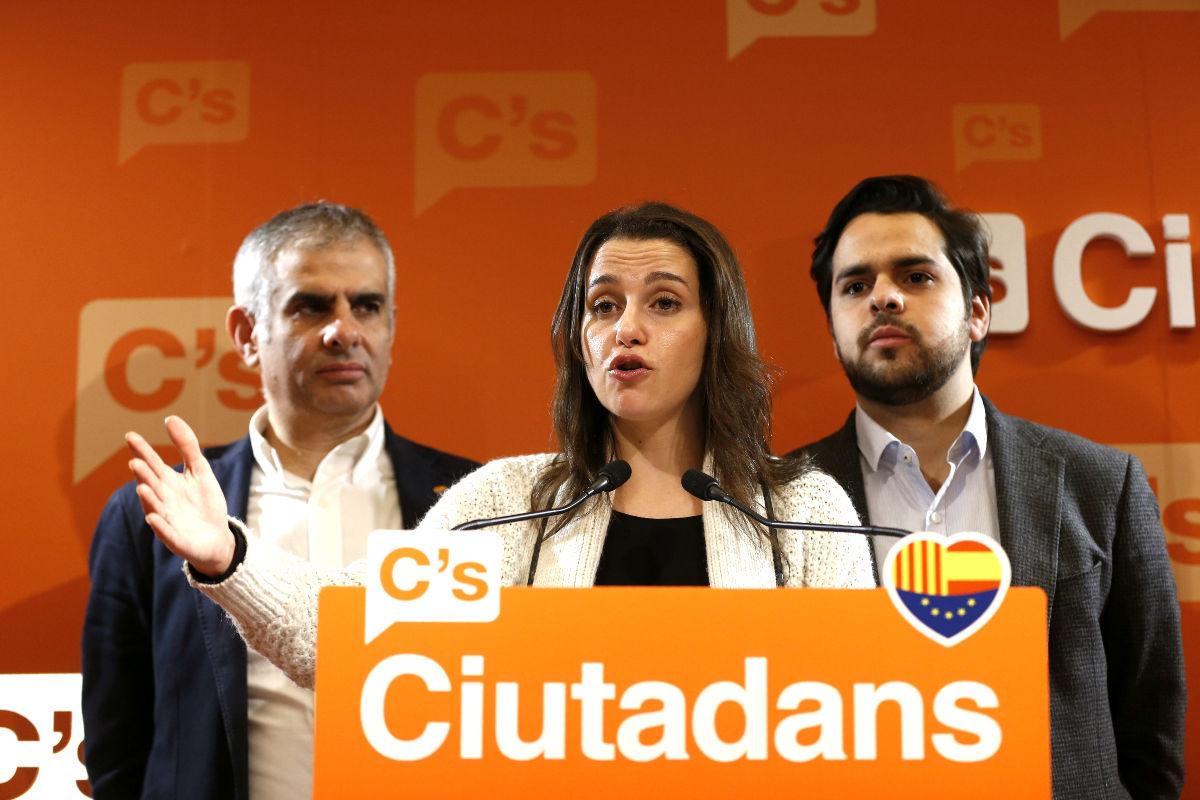 Inés Arrimadas-Artur Mas-CUP-Cataluña