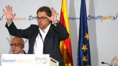 Artur Mas en el Consell de CDC (Foto: Efe).