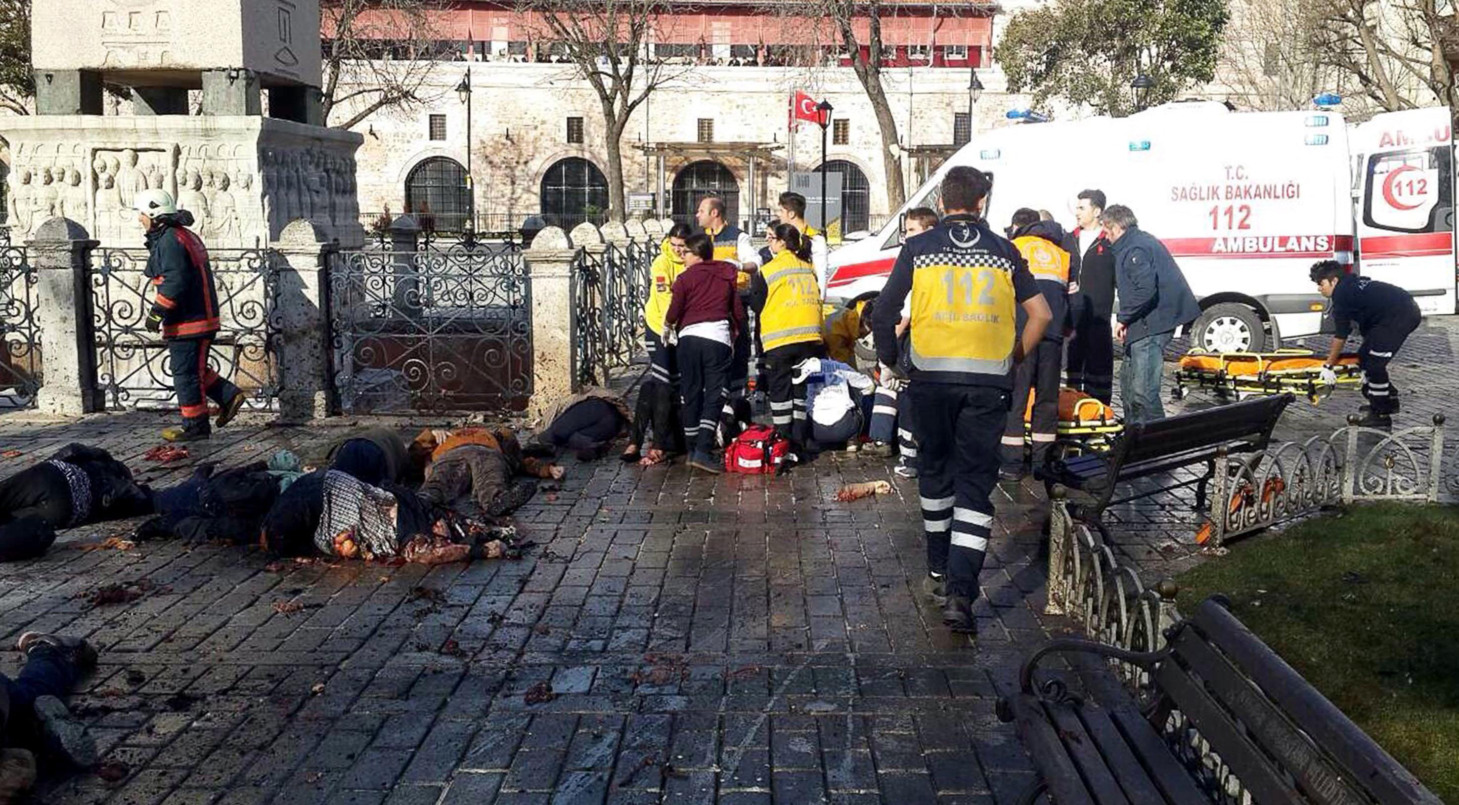 Imagen de un atentado en Estambul en enero de 2016 (Foto: AFP).