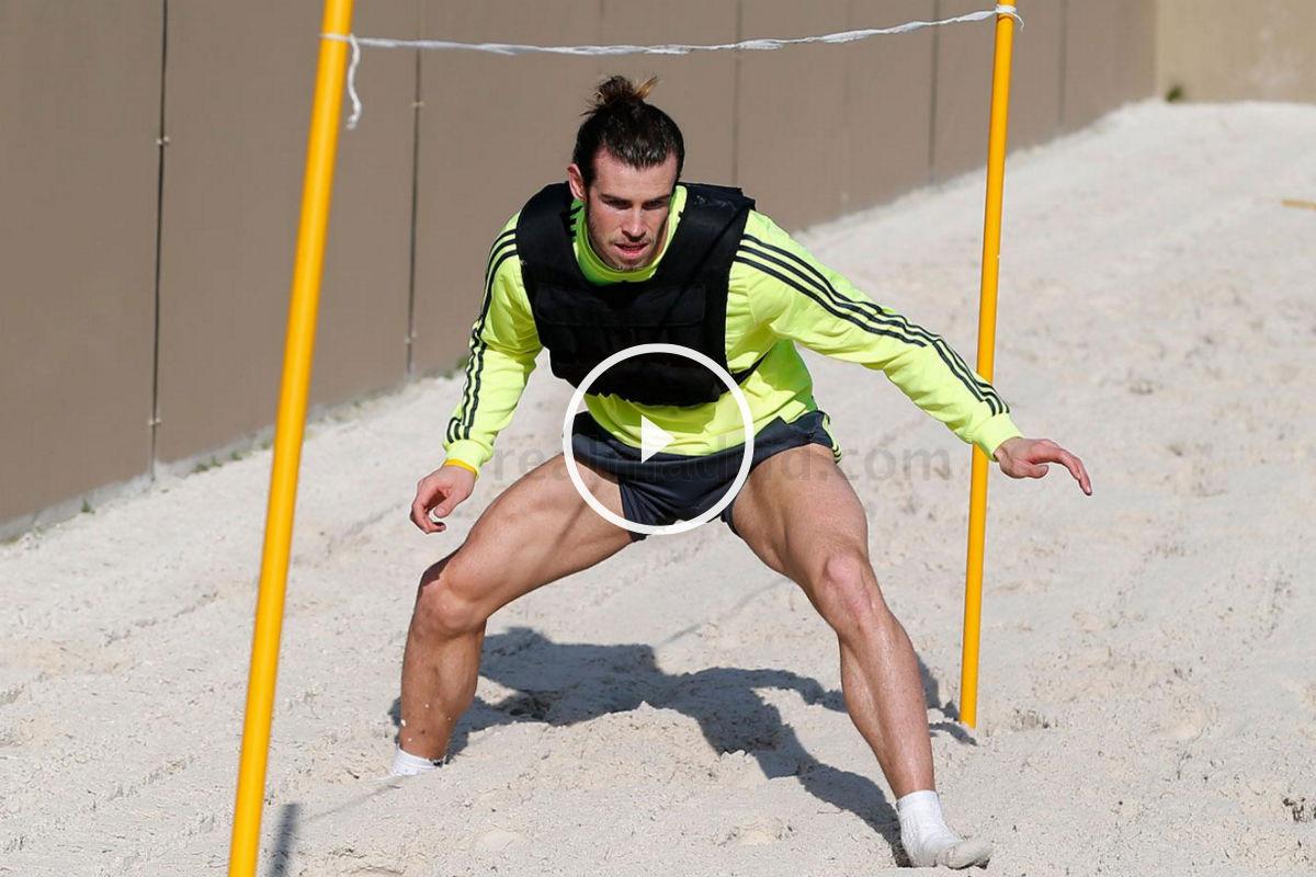 Bale está acortando los plazos de su recuperación. (Imagen:realmadrid.com)