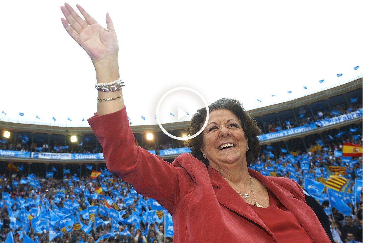 La ex alcaldesa de Valencia, Rita Barberá. (Foto: Getty)