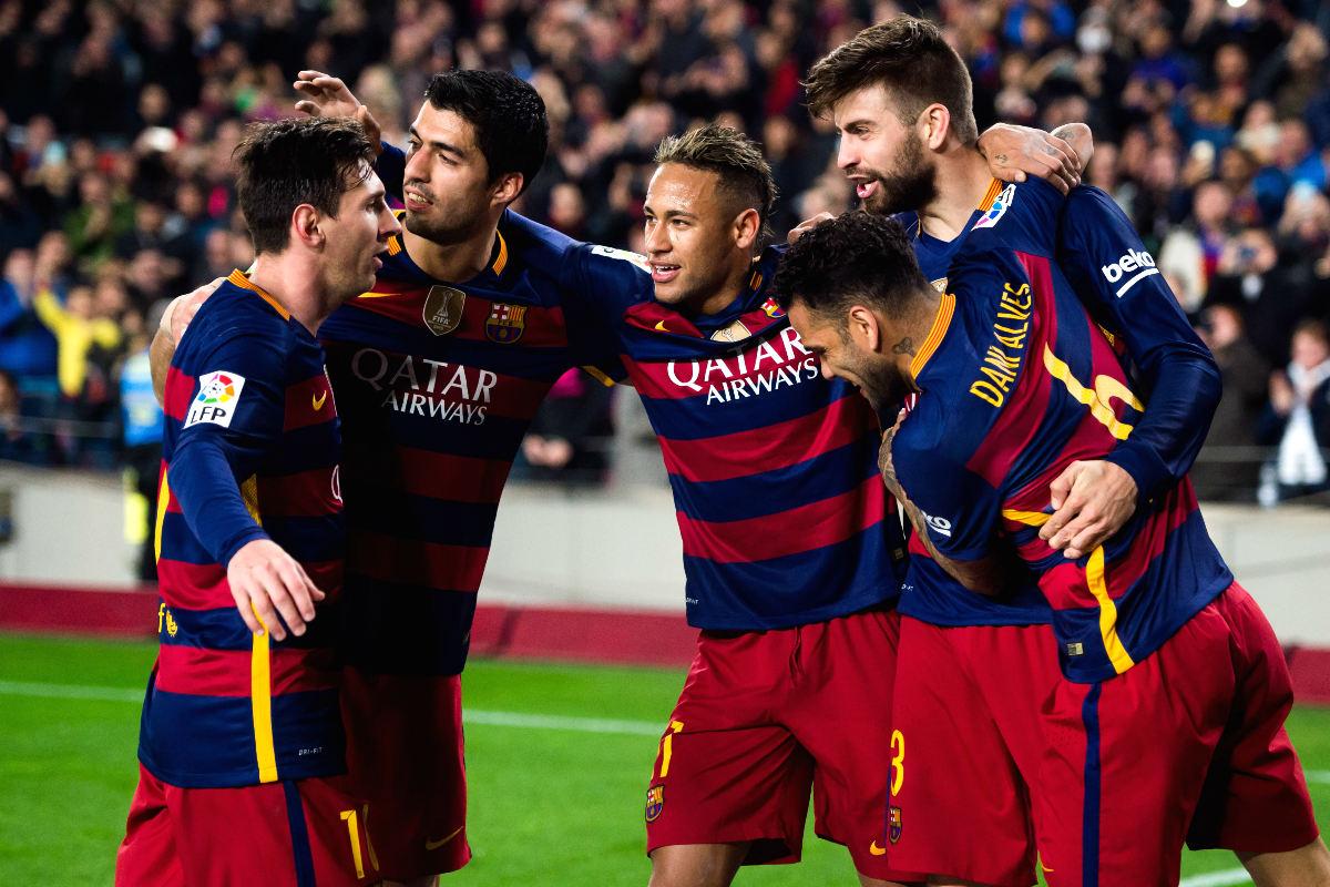 El Barcelona es el favorito en las apuestas para ganar la Copa del Rey. (Getty)
