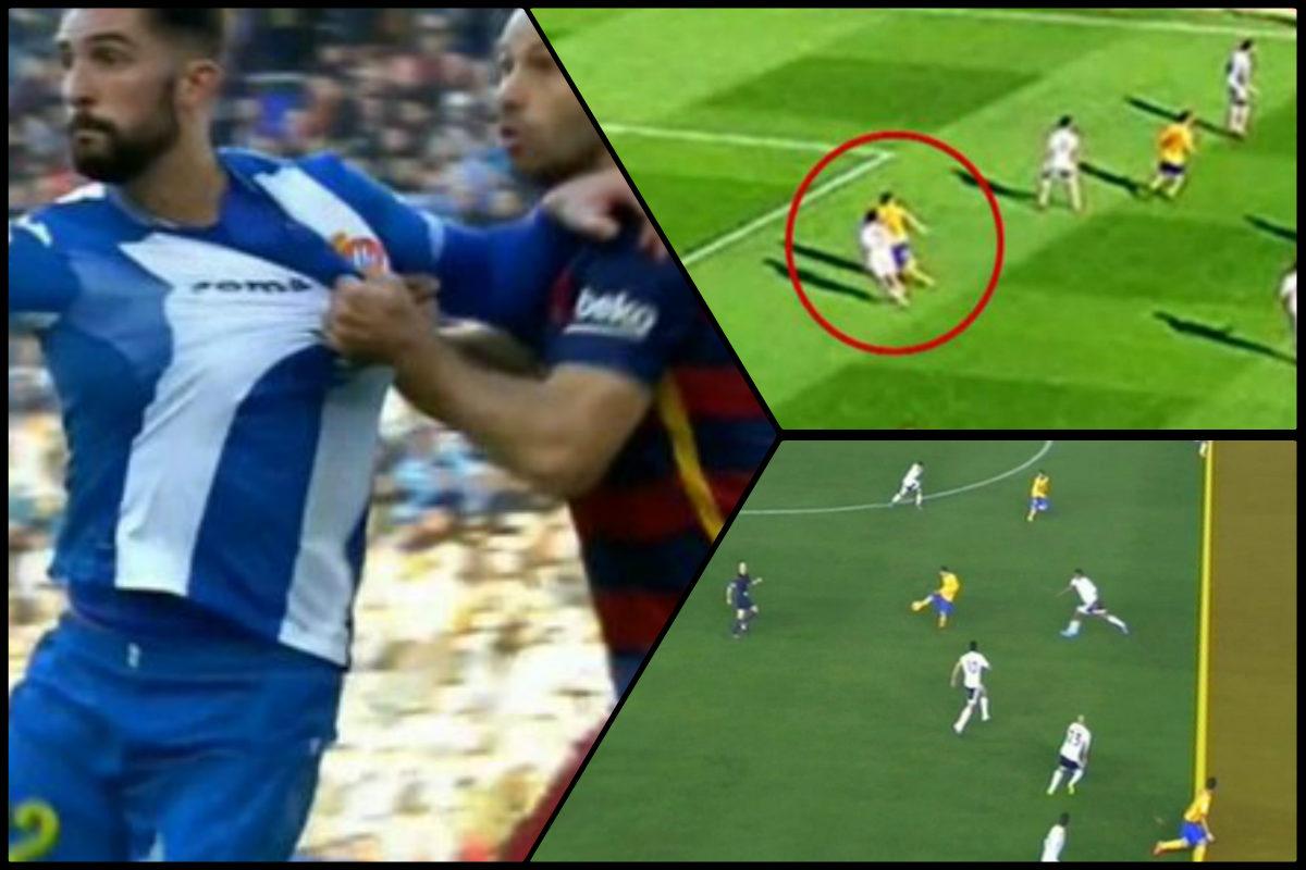 El Barcelona ha sido favorecido en tres partidos.