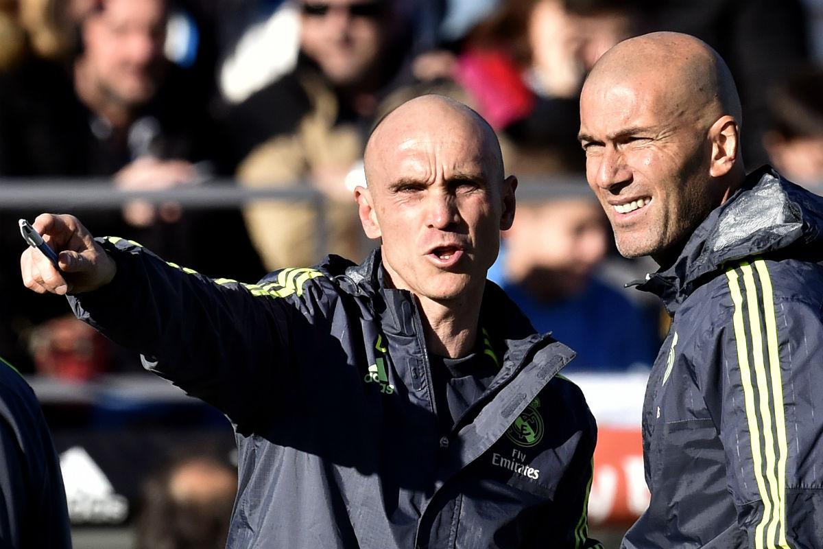 David Bettoni no es segundo entrenador del Real Madrid. (AFP)